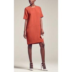 MM Lafleur Silvia Shift Dress Paprika Career Work